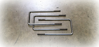 Custom/special stainless steel 3/8 square U-bolts - engineered source inc is a supplier of custom square u bolts in stainless steel and steel zinc materials - covering Santa Ana, Orange County, Los Angeles, Inland Empire, San Diego, California, United States, and Mexico