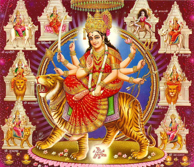 Durga Wallpapers,Wallpaper of Goddess Durga ,Desktop Themes title=