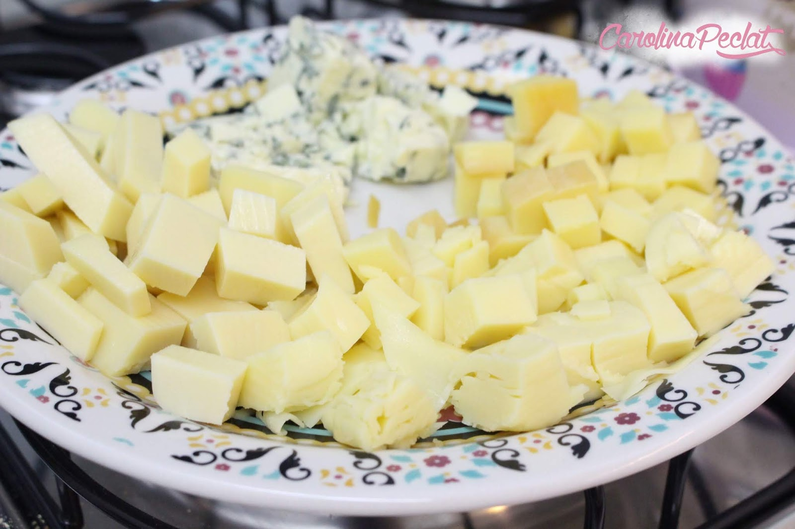 penne aos 4 queijos
