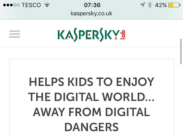 Kaspersky Kids Safe App