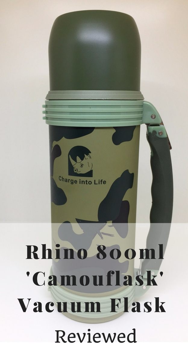 The Rhino 800ml 'Camouflask' is a new vacuum flask designed to carry both hot and cold drinks. Perfect to carry hot beverages like tea and coffee in the winter. Or a cold drink of water or beer in the summer. Great for all outdoor adventures.