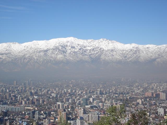 Cordilheira dos Andes, Santiago.