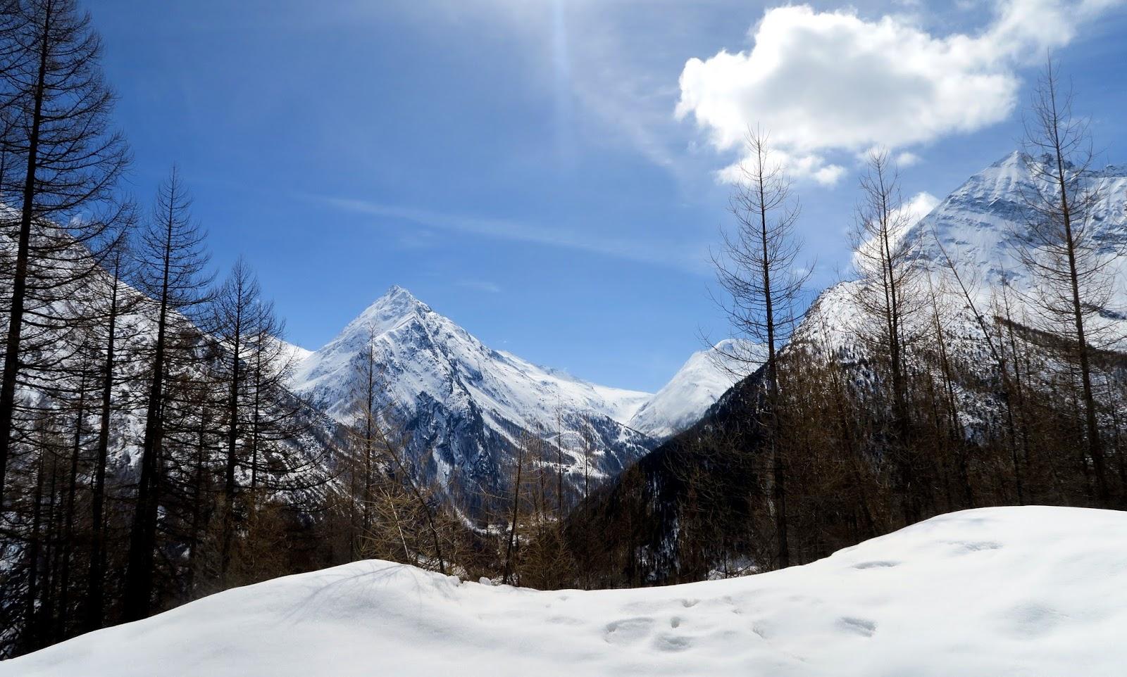 Bergwelt von Saas-Fee Schweiz