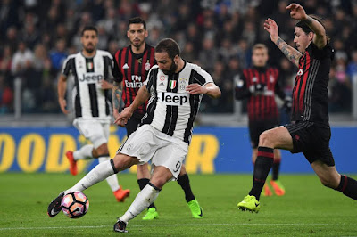 Highlight AC Milan 0-2 Juventus, 28 Oktober 2017