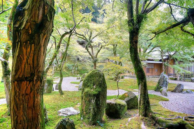 Komyozenji rear garden