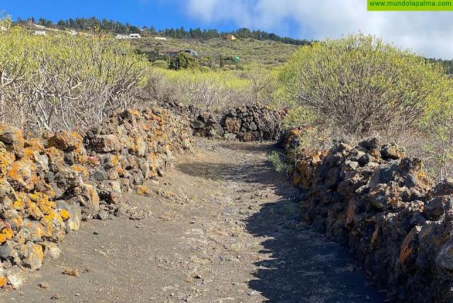 Fuencaliente recupera sus caminos reales como seña de identidad del producto turístico del municipio