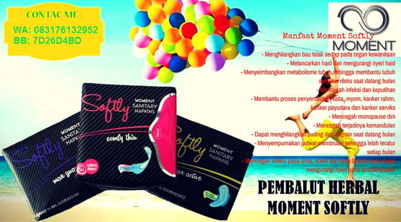 Pembalut Herbal Moment Softly
