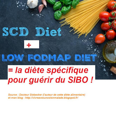 SCD + low fodmap diet : SIBO diet
