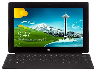 harga dan spesifikasi Microsoft Surface Windows 8 Pro