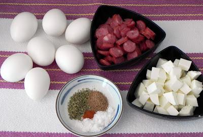 omelete rápida