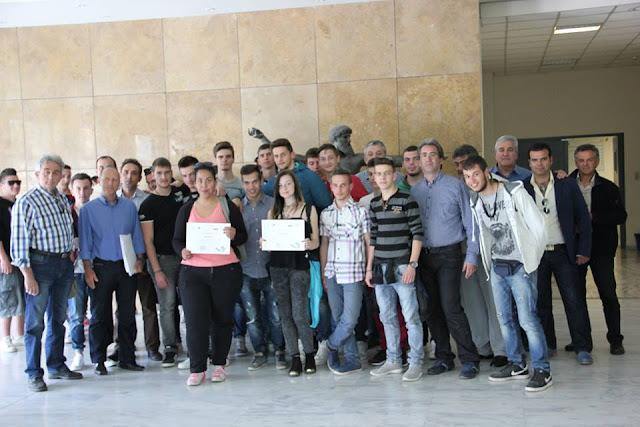 Συγχαρητήρια από  τον Γιάννη Γκιόλα στους μαθητές του 1ου ΕΠΑΛ και 1ου Ε.Κ. Άργους για  τη διάκριση στο φεστιβάλ ταινιών της Κροατίας