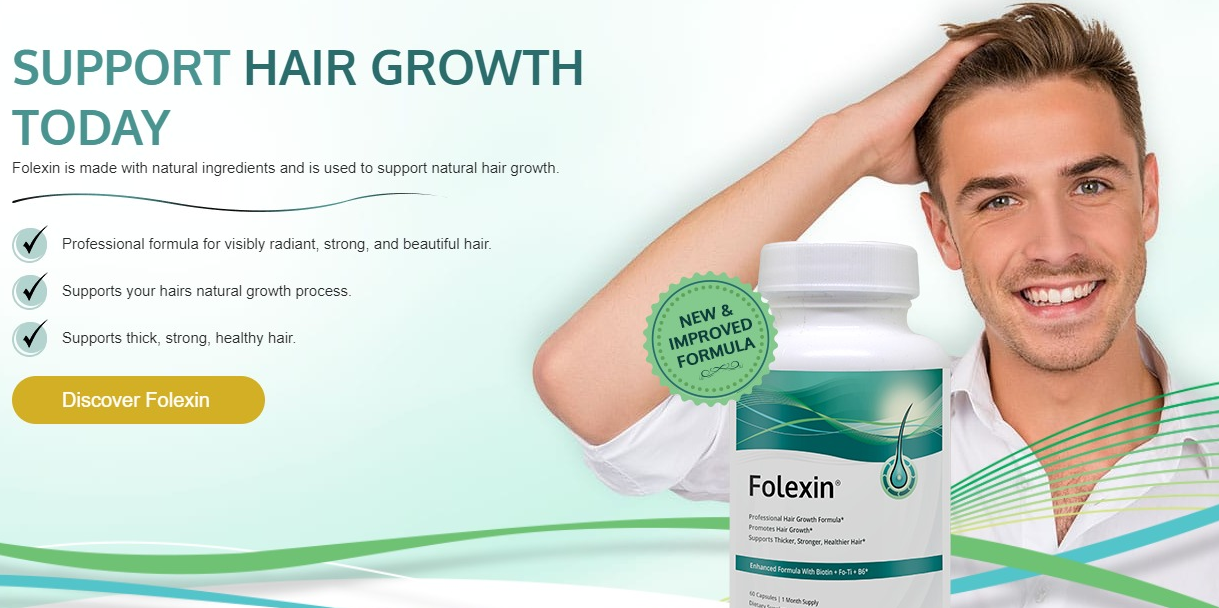 Folexin - Hair Growth Supplement