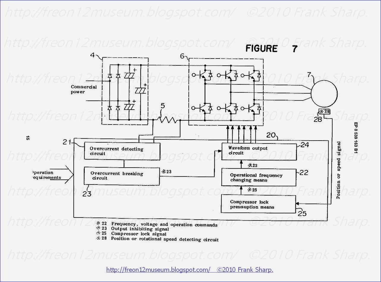 hight resolution of embodiment 3 referring now to figure 7 there is shown a block diagram of the inverter air conditioner according to a third embodiment of the present