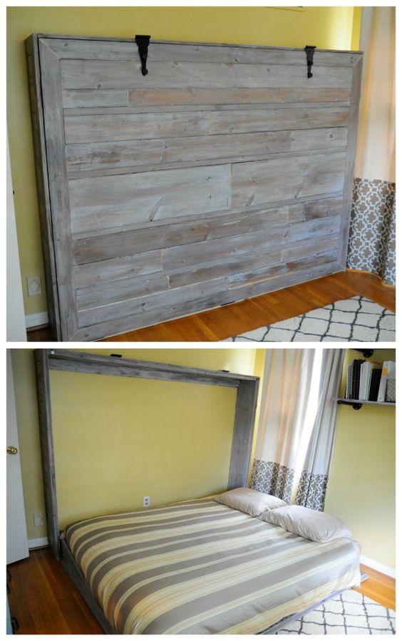 installer un lit escamotable chez soi