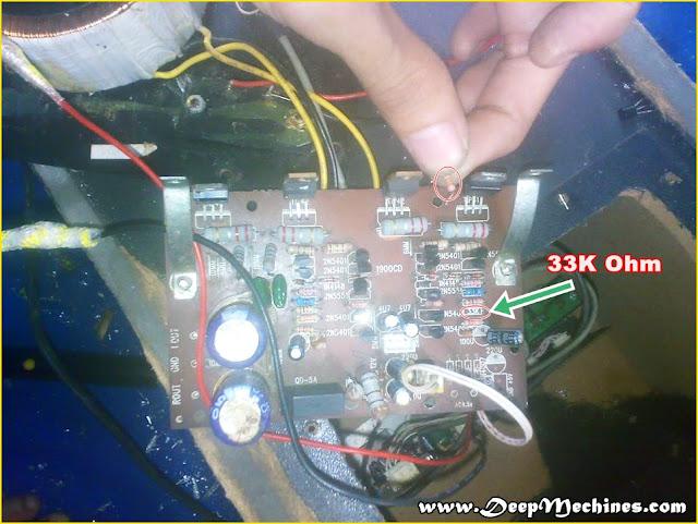 Gambar Mesin Dalam Speaker Aktif DAT