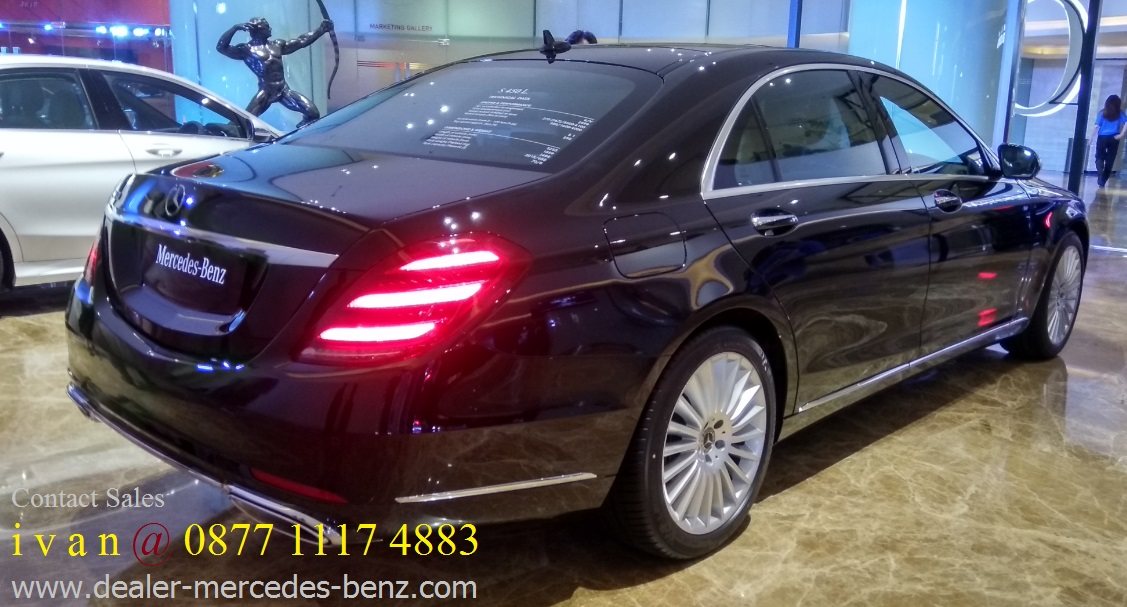 S class s450 l s400 l exclusive 2018 indonesia for Mercedes benz service b coupons 2017
