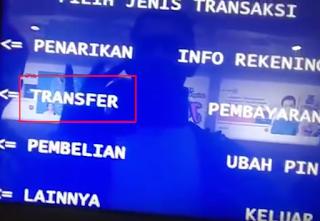Cara Transfer Uang Menggunakan ATM BRI dilengkapi Gambar dan Video Tutorial Lengkap