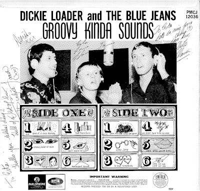 Dicky Loader & The Blue Jeans - Groovy Kinda Sounds (1967)