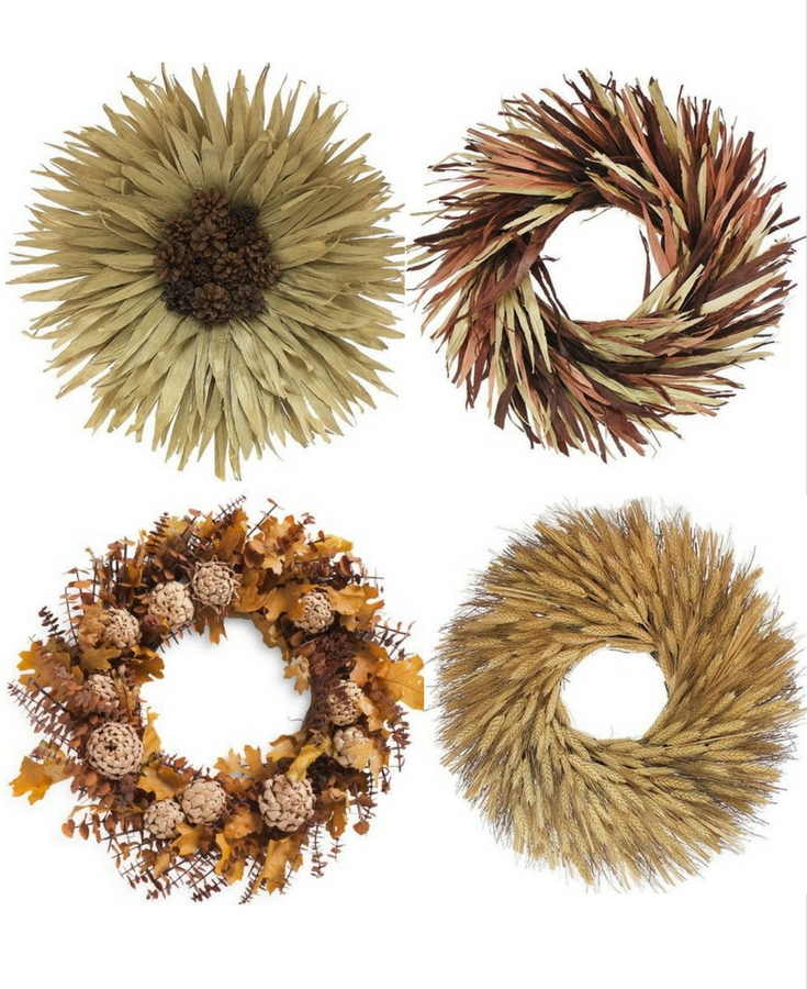 fall wreath ideas for front door