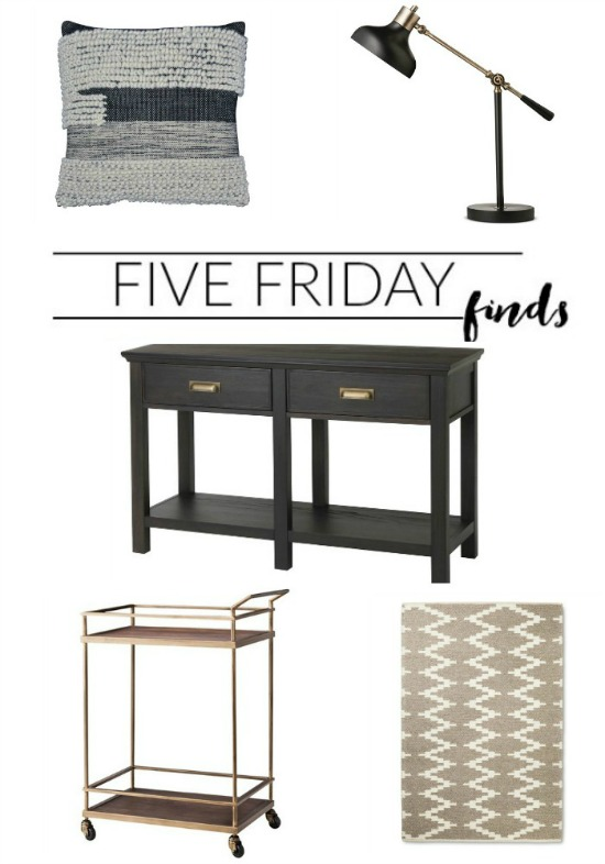 FIVE FRIDAY FINDS: Can't miss sales from Target! www.littlehouseoffour.com