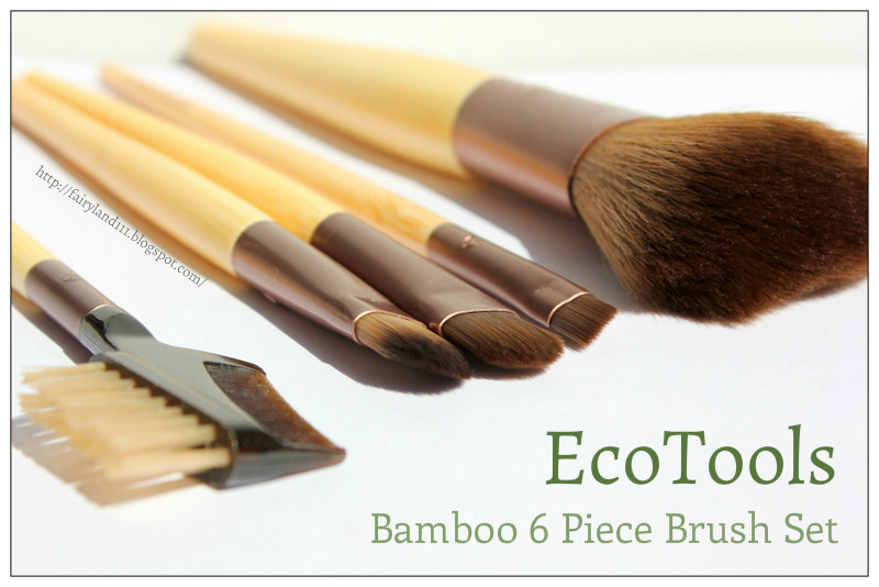 Review:  EcoTools, Bamboo 6 Piece Brush Set