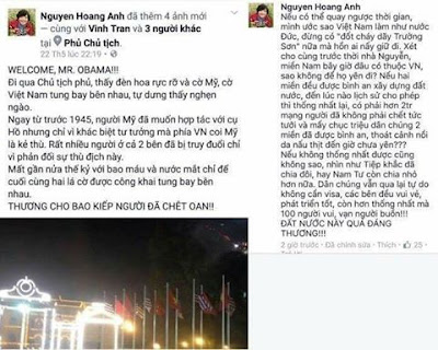 Kết quả hình ảnh cho Nguyễn Hoàng Ánh xuyên tạc lịch sử