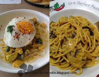 curry leaves cooking cream egg mushroom
