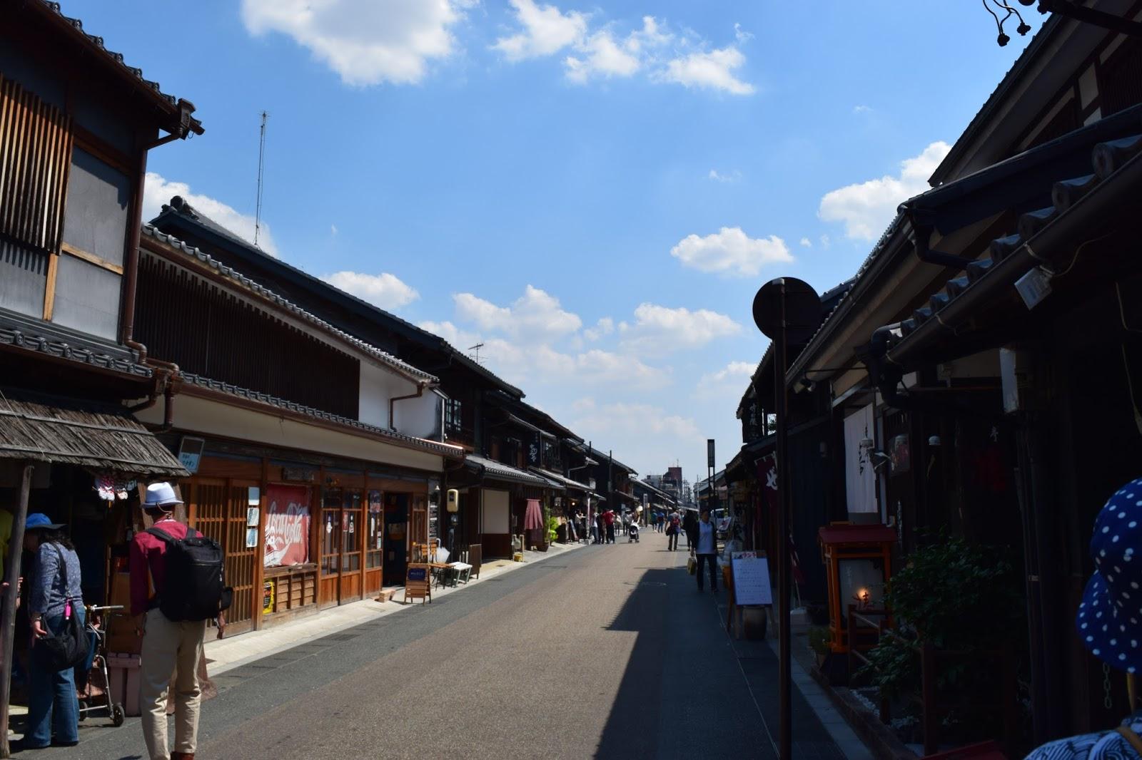 Inuyama castle area Aichi