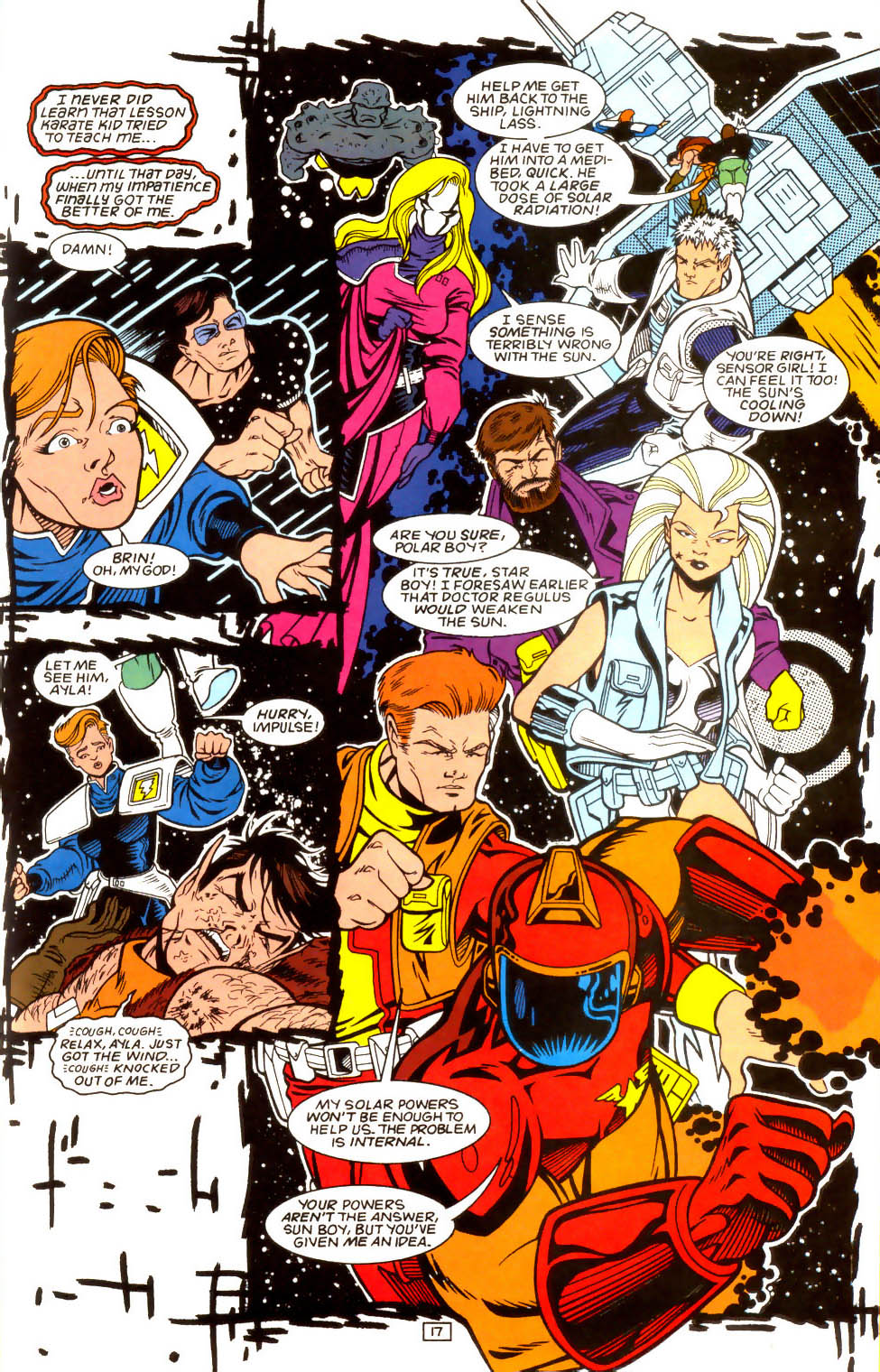 Legion of Super-Heroes (1989) 52 Page 17