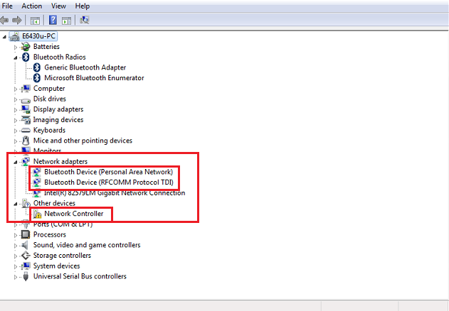 how to get to device manager windows xp