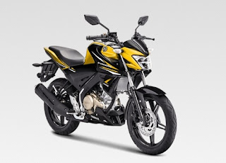 All New Vixion Metalic Yellow