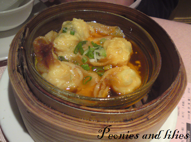 Ding hao restaurant review, London chinatown, Dim sum, Spicy hot prawn dumpling soup