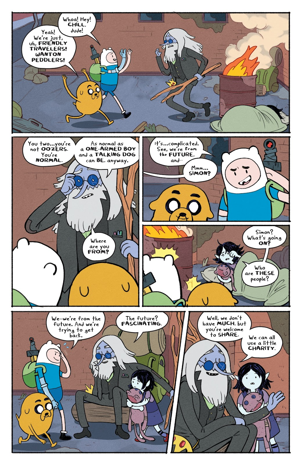 Read online Adventure Time: Beginning of the End comic -  Issue # _TPB - 92