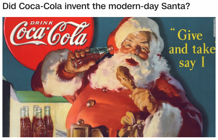 Coca Cola Might Not Have Invented Santa But They Sure Do Interesting Name Gematria