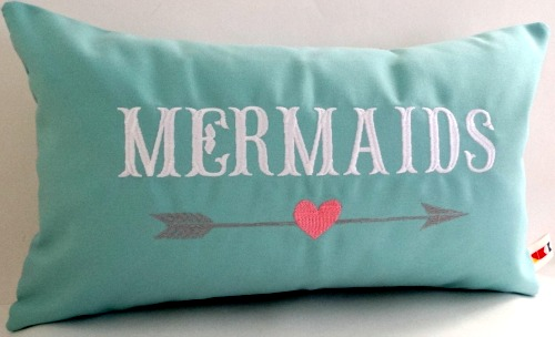 Handmade Mermaid Pillow