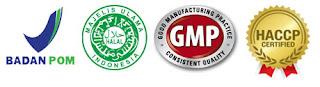 BPOM, Halal MUI, GMP dan HACCP