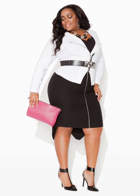 geeks fashion: 16 Ways to pull off the Black and White ...