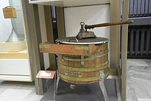 butter churns and washing machines