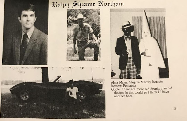 EVMS Yearbook Staffer Takes a Blowtorch to Northam's Claims Blackface, KKK Photo Ended Up on His Personal Page 'Accidentally'