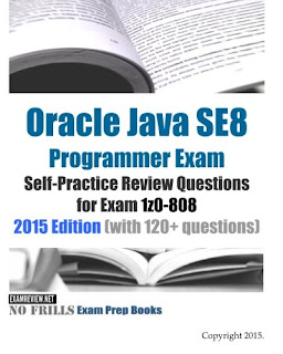 book for OCAJP8 practice questions