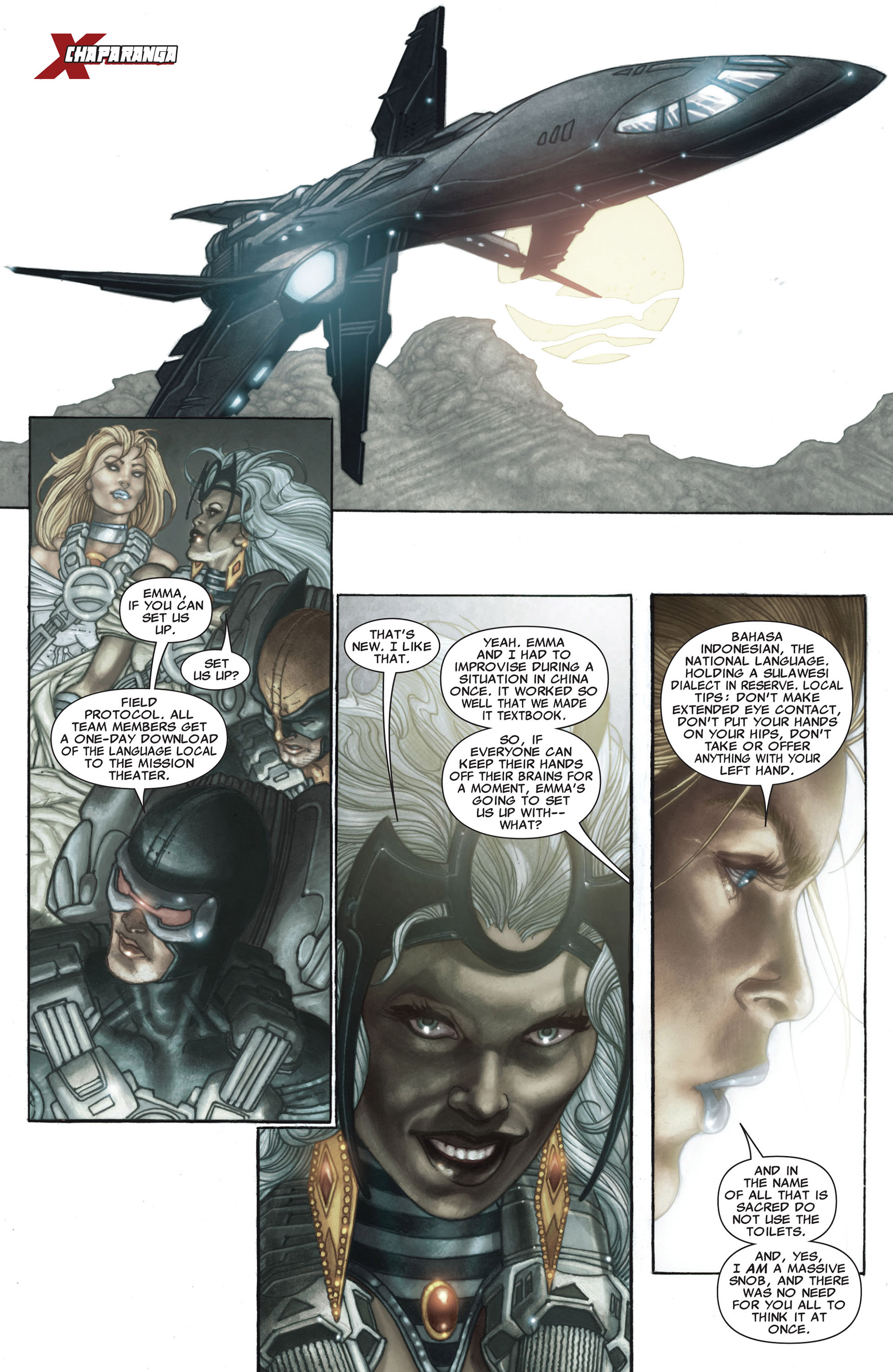 Read online Astonishing X-Men (2004) comic -  Issue #26 - 3