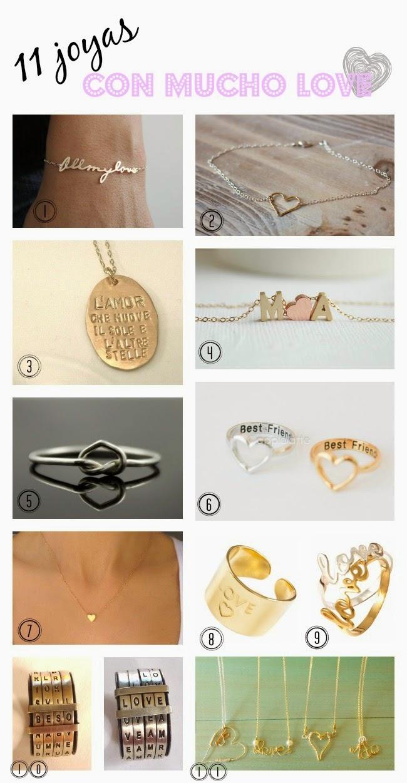 11 joyas para darle un toque love a tu look