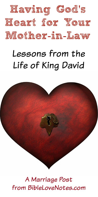 David dealt with King Saul respectfully, David and Saul teach us about mother-in-law relationship