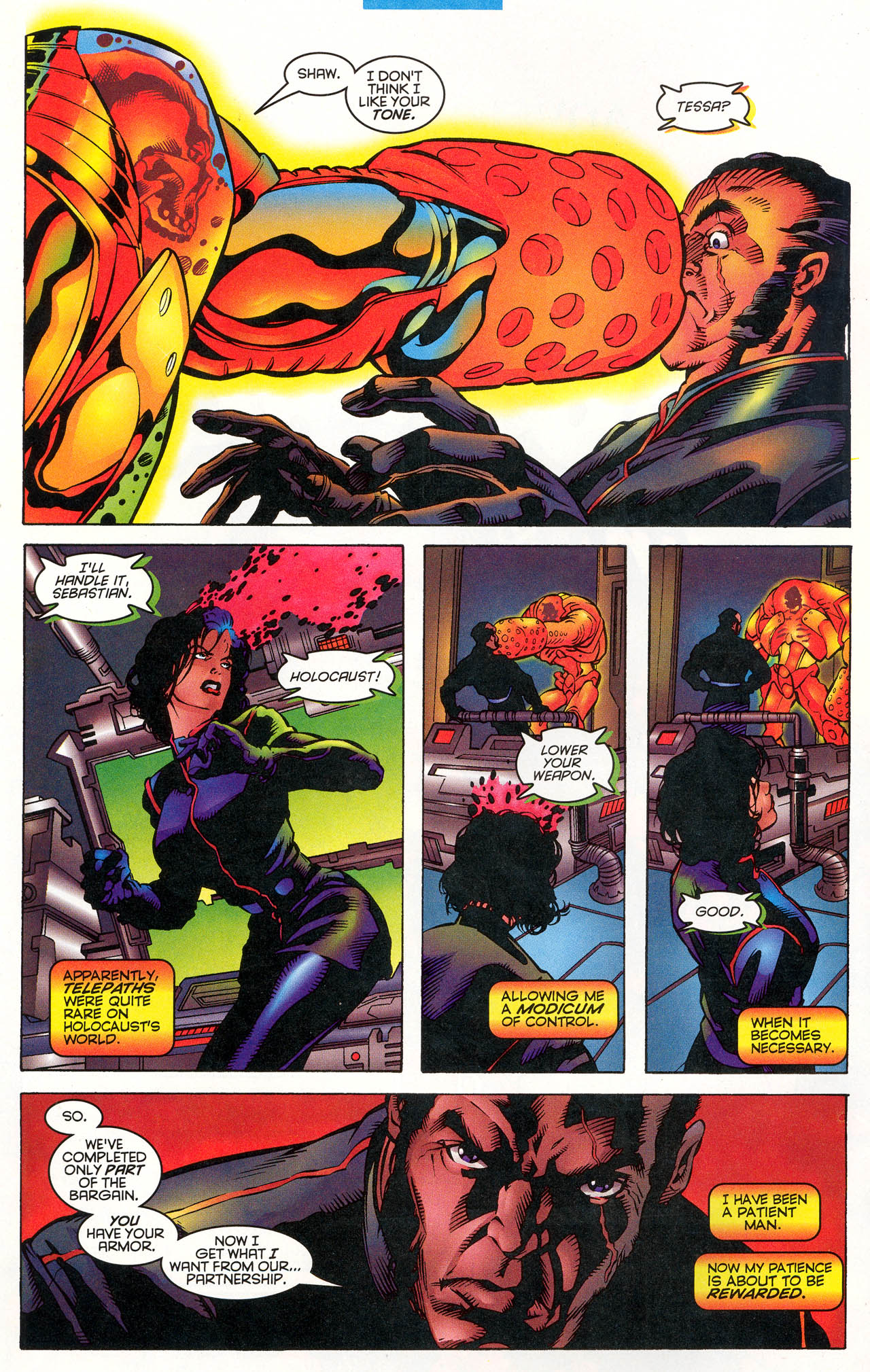 Read online X-Force (1991) comic -  Issue #49 - 7