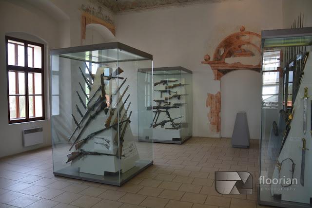 Muzeum broni - Renesansowy zamek w Pardubicach