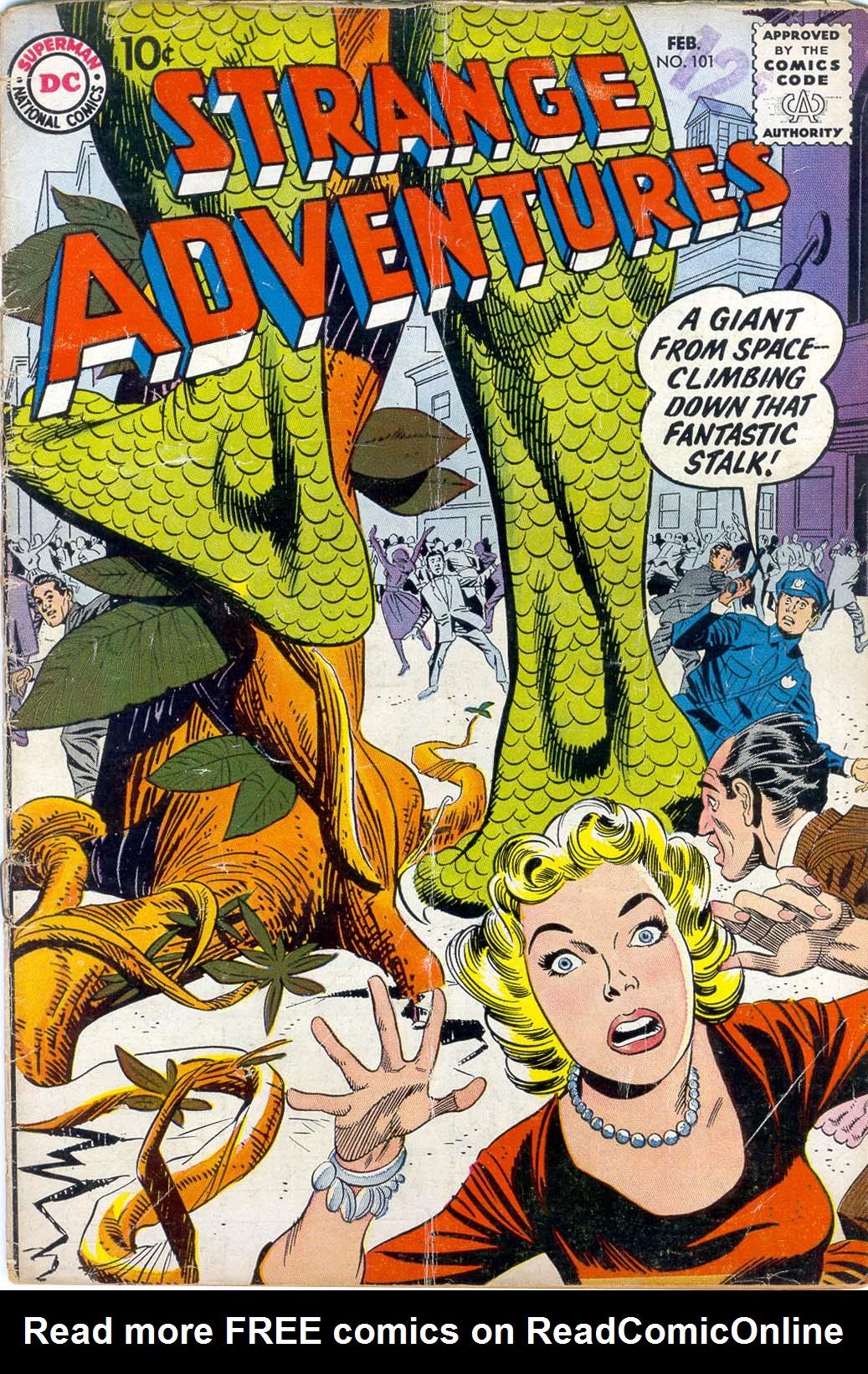 Strange Adventures (1950) issue 101 - Page 1