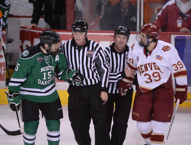 This is the biggest and best rivalry in college hockey and the 2015-16  edition begins tonight at