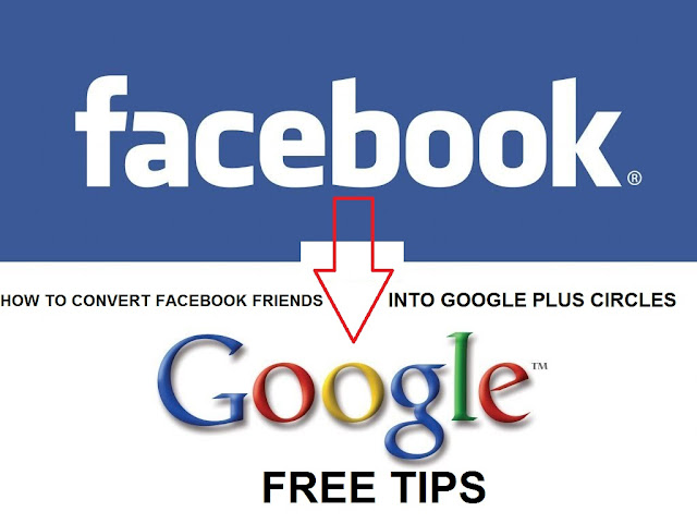 HOW TO CONVERT FACEBOOK FRIENDS INTO GOOGLE PLUS CIRCLES FREE TIPS Cover Photo