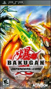 Bakugan Defenders of the Core psp iso español mediafire y mega.