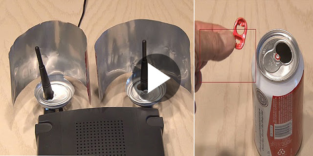 Video - Boost Your Wifi Signals Using A Beer Can! Superb Trick!